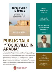 Poster for Mitchell talk.